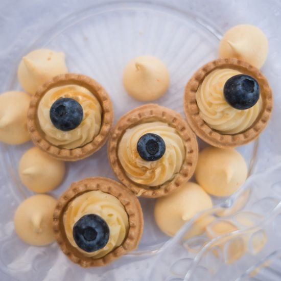 Mini tartaletky s vanilkovým krémem