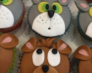 Tom a Jerry Cupcakes