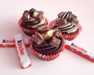 Kinder_chocolate_cupcakes