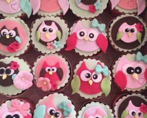 Cupcakes sovičky