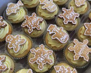 Cupcakes vanilkové perníčkové