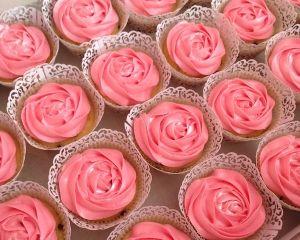 Cupcakes růžové