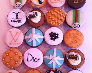Cupcakes Dior Chanel LV