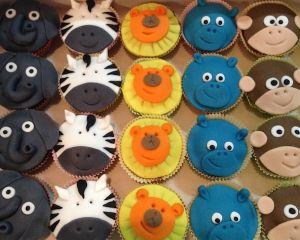 Cupcakes Safari zvířátka
