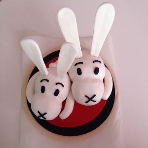 Dort - králíci v klobouku Bob a Bobek