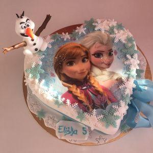 Dort srdce - Ledové království Anna a Elsa a figurka Olaf