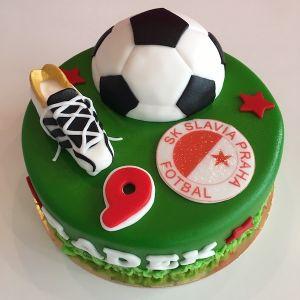 Dort Fotbal - míč a Slavie