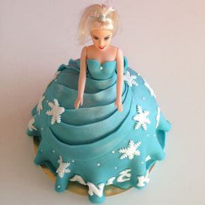 Dort - Ledové královtsví - Elsa Barbie 3D
