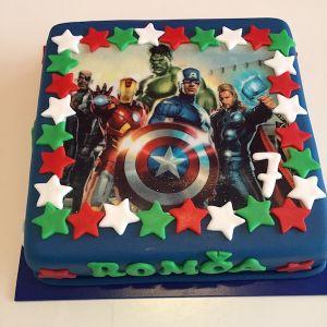 Dort Avengers - jedlý papír