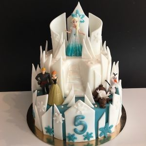 Dort zámek - Ledové království