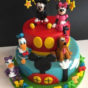 Dort velký dvoupatrový - Mickey, Minnie, Kačeři - Mickeyho klubík