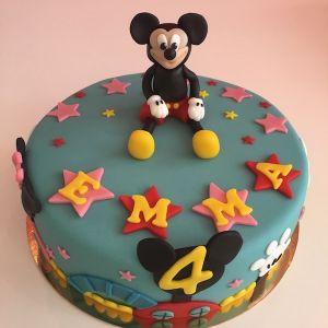 Mickeyho klubík dort - Mickey club