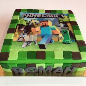 Minecraft dort s jedlým papírem