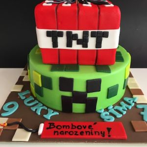 Dort Minecraft s bombou TNT