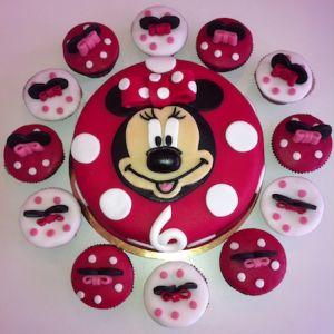 Dort Minnie a cupcakes