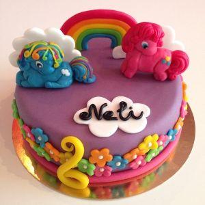Dort - My little ponny fialový 2