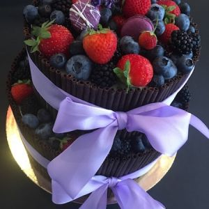 Dort ovocný čokoládový