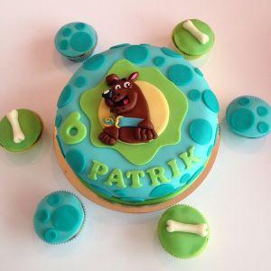 Dort Scooby Doo a cupcakes