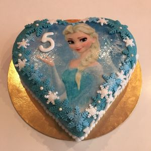 Dort srdce - Ledové království - jedlý papír Elsa