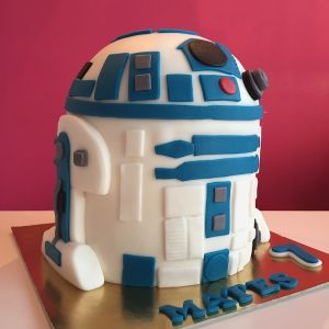 Dort starbucks Star wars robot R2 D2