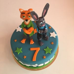 Zootropolis dort - liška a zajíc