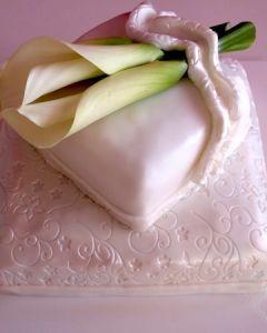 Svatební dort Kaly
